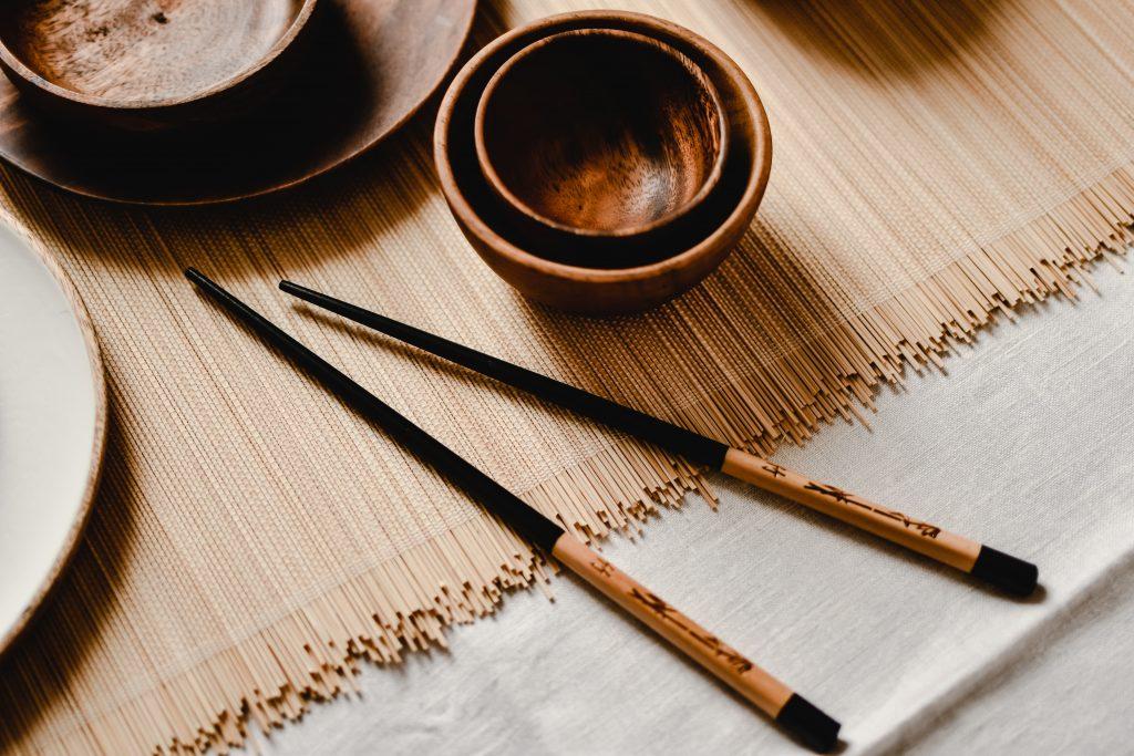 A pair of chopsticks